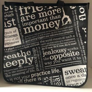 Lululemon Recycle Bag Inspiration Quotes